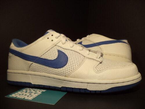 9 Royal Varsity 2005 White Low Nike Dunk 142 Blue Perf 309431 Black Perforated 0ZTwqa7xwU