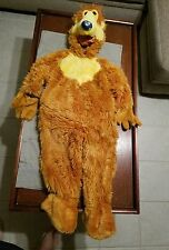BEAR IN THE BIG BLUE HOUSE BODY COSTUME SIZE 2-4T CHILD THE DISNEY STORE