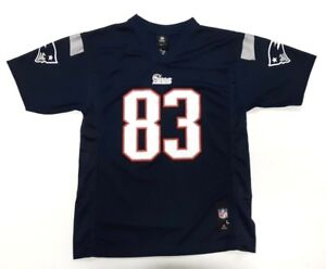 New England Patriots Jersey Youth Wes Welker #83 NFL Blue Boys NFL  for cheap