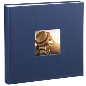 Álbum de fotos 30 x 30 cm, 100 páginas, 50 hojas, con com Hama Fine Art Jumbo