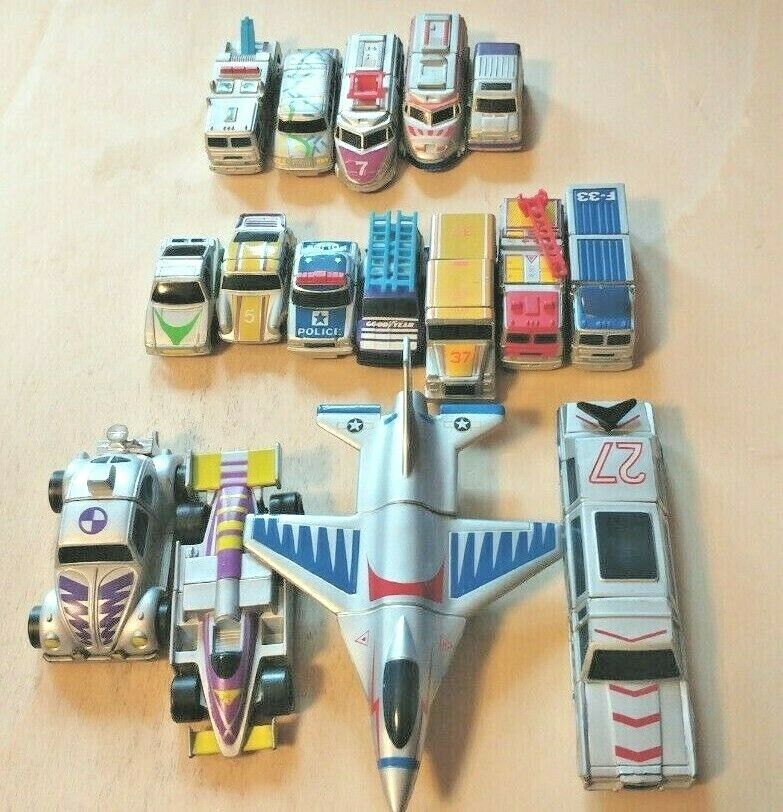 MATCHBOX CONNECTABLES LOT OF 16 VEHICLES LIKE NEW  VINTAGE