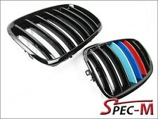 /// Tri Glossy Black Front Grill Grille For 2008-2013 BMW E71 X6 X6M