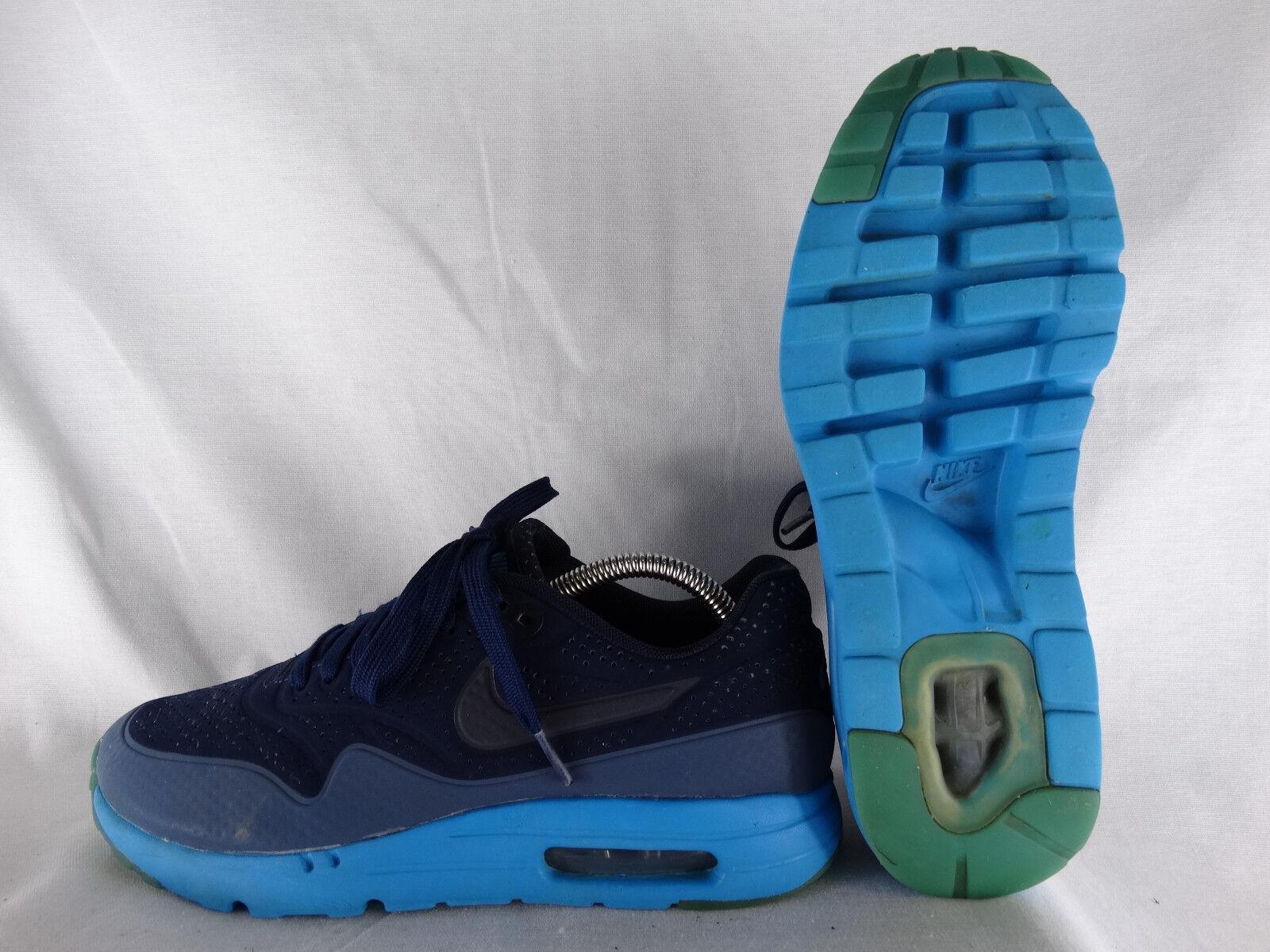check-out 2705a f341f Nike blau-blau Air Max 1 Ultra Moire Sneaker Runner blau ...