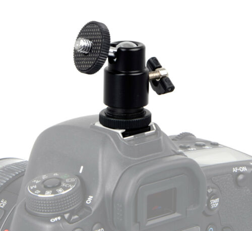 Mini Kugelkopf Blitzschuh Halter für Kamera