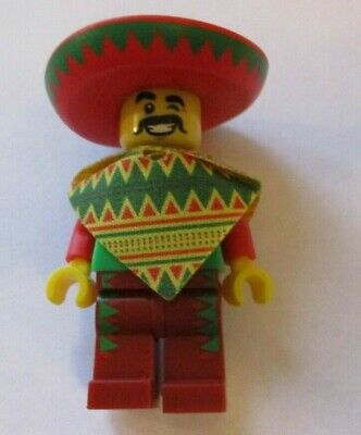 Genuine Lego 71004 Movie Series Minifigure no.12 Taco Tuesday Guy