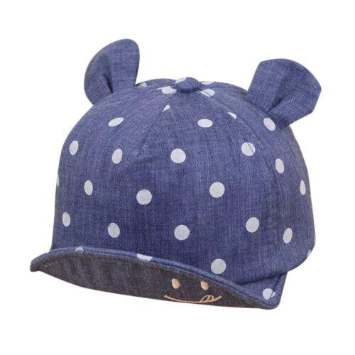 Autumn Winter Toddler Baby Boy Girl Hat Cotton Eaves Baseball Cap Sun Hat Beret