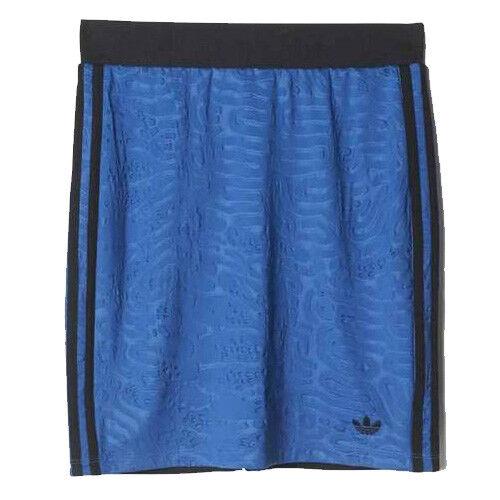 Adidas Original Bermuda Tight Fitting Womens Skirt Blue S20011 DD47