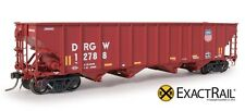 Exact Rail Platinum HO D&RGW Medallion Repaint Hopper NEW EP-81463-1