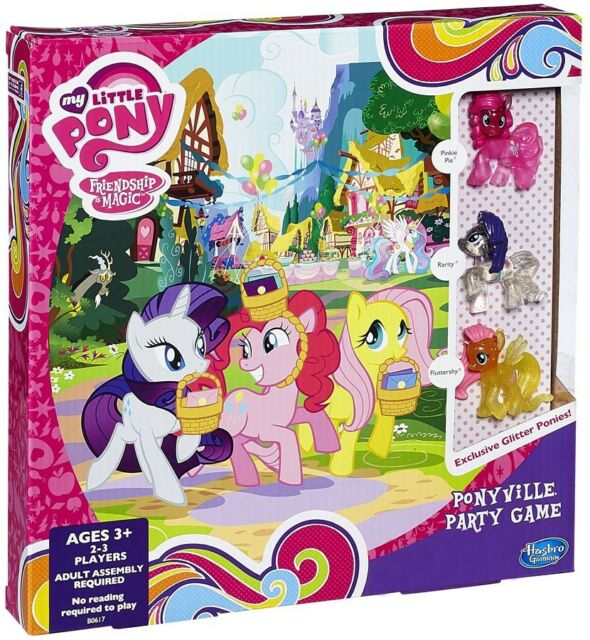 my little pony friendship is magic ponyville party game by hasbro ebay