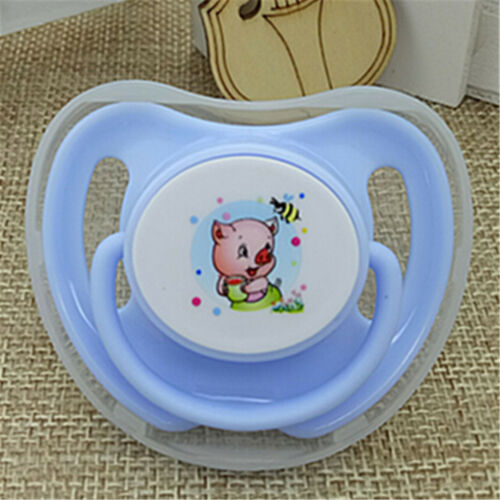 Infant Pacifier Butterfly Round Pacifiers Newborn Child Soother Silicone Pip