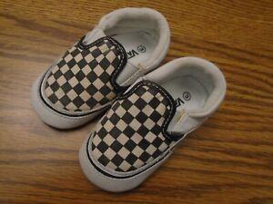 Vans Soft Sole Crib Shoes Baby Boys
