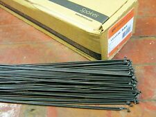 Butted *Any Qty**Any Length* Belgium NEW SAPIM LASER Black Spokes 2.0//1.5mm Dbl