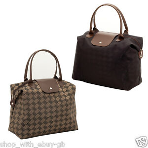 LADIES WEEKEND LUGGAGE BAG - SHOULDER HOLDALL HAND LUGGAGE ...