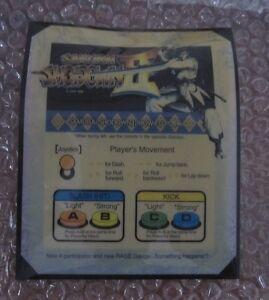 Arcade Gaming 1994 Neo Geo Mvs Samurai Shodown Ii Artworks