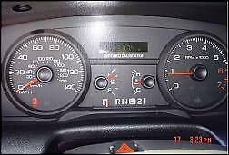 Image Is Loading   Ford Crown Vic Police Odometer Speedometer