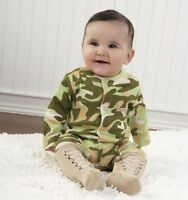 Baby Aspen Big Dreamzzz Baby Camo Layette Set With Gift Box, Tan, 0-6 Months , N