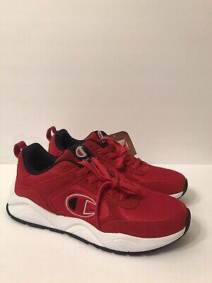 Red//White//Black Champion Men/'s 93 Eighteen Shoes CM100231M