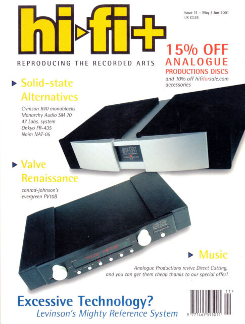 Hi-fi Magazine Issue No  61 October 2008 Reviewed Thorens Td160 HD