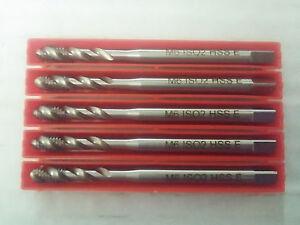 10pcs-M6-x-1-ISO2-DIN371-Form-C-35-039-039-HSSE-Cobalt-5-TAPS-SPIRAL-FLUTE-GWG