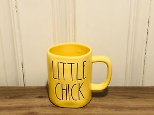 Rae-Dunn-Easter-By-Magenta-LITTLE-CHICK-LL-Large-Letter-Farmhouse-Yellow-Mug