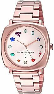 Marc-Jacobs-Women-039-s-MJ3550-039-Mandy-039-Crystal-Rose-Tone-Stainless-Steel-Watch