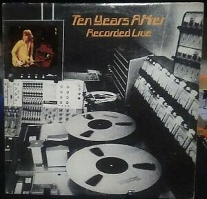 TEN YEARS AFTER Recorded Live Double Album Released 1973 Record/Vinyl USA