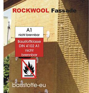 Dämmplatte Fassadendämmung Wdvs Putzträgerplatte Rockwool