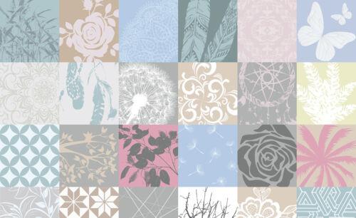 VLIES Fototapeten Fototapete Tapete Kunst Blume Foto Fliesen Mosaik 3FX11286VE
