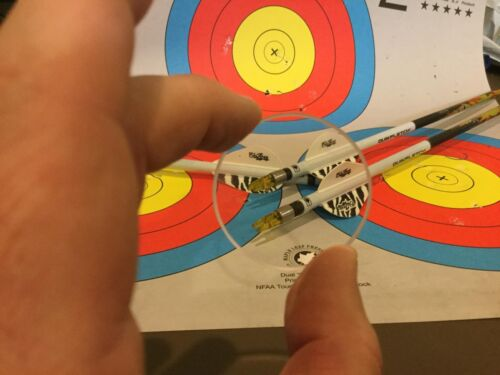 archery scope lens Optix 300 1-3//8 VIPER TARGET HOUSING