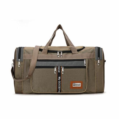 Large Men/'s Duffle Bag Gym Sport Travel Luggage Pack Shoulder Tote Waterproof