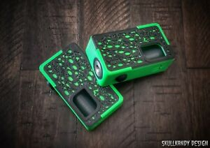 Details about VENOM X HD 20700 ABS V2 Full Mech SS Squonk Mod Box SKULLY  Zombie Green