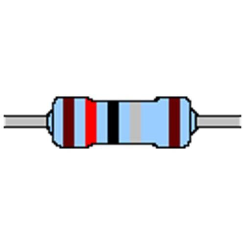 Strato di metallo-resistenza 1,2 Ohm 1/% 0,6w forma con 0207 CINTURE