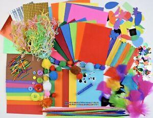 Childrens Art & Craft Set ~ Kids Art & Craft Materials ~ Foam Felt Pom Sequin