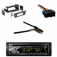 Deh-x6900bt Bluetooth Cd Aux Radio, Wire Harness, Gm Antenna Adapter, Gm Din Kit on sale