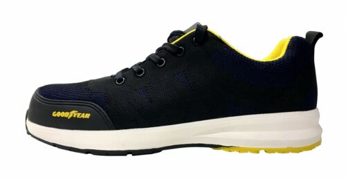 Goodyear Safety Trainers Composite Toe Lightweight Metal Free Work Sports Shoes