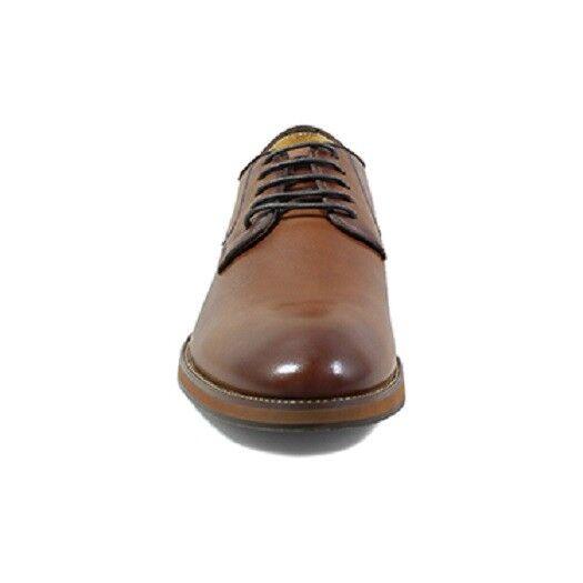 Florsheim Uomo Blaze Plain Toe Oxford Uomo Florsheim Scarpe dressy Cognac Leather 14198-221 179226