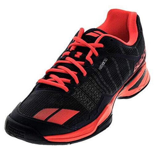 Babolat Zapatos Tenis Hombre Negro Azabache equipo All Tribunal Raqueta Raqueta nuevo con etiquetas 30S17649
