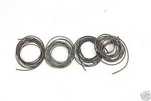 Korda Green Silicone tubing for hooks 1.5m  ALL SIZES Carp fishing