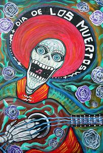 DOD DIA DE LOS MUERTOS POSTER (91x61cm)  PICTURE PRINT NEW ART