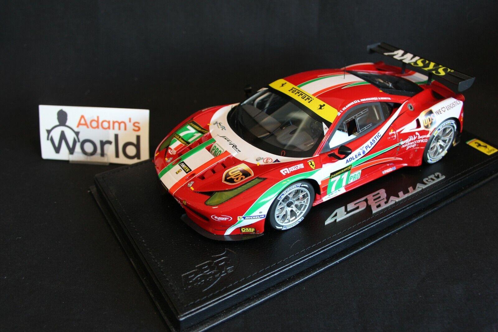 BBR AF Corse Ferrari 458 Italia GT2 2013 1 18 th place 24h Le Mans (PJBB)