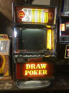 Maquina De Slot De Poquer Antigo 1986 Igt 25 Centavos Draw Poker Quarter Maquina Ebay