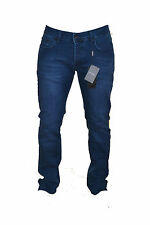 DOLCE & GABBANA MEN'S 'STRETCH 16' BLUE DENIM JEANS SIZE 36 WAIST D&G