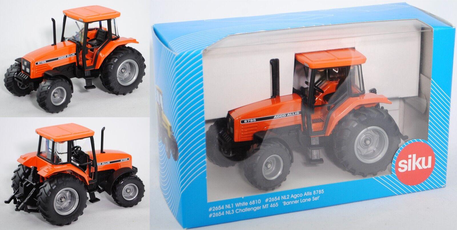 SIKU FARMER 2654 2654 2654 00302 AGCO ALLIS 8785 tracteur, 1:32, publicité Boîte, limitée da5d55