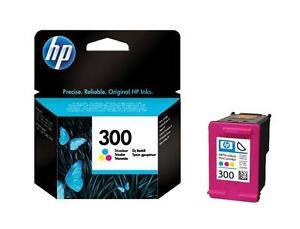 GENUINE-ORIGINAL-HP-300-COLOUR-INK-CARTRIDGE-F4200-F4240-F4283-D1660-FASTPOSTAGE