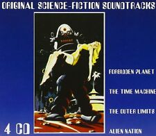 CD Original Science Fiction Soundstracks 4CDs incl. The Time Machine, Forbidden