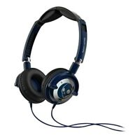 Skullcandy Lowrider Headphones in Navy/Chrome with Mic NEW