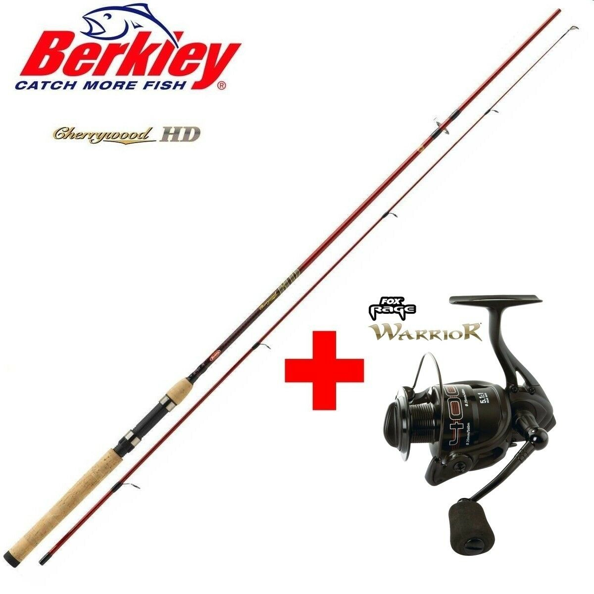 Berkley CHERRYWOOD HD 2,70m + Fox Rage Warrior 4000