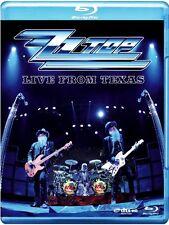 "ZZ TOP ""LIVE FROM TEXAS"" BLU RAY NEU"