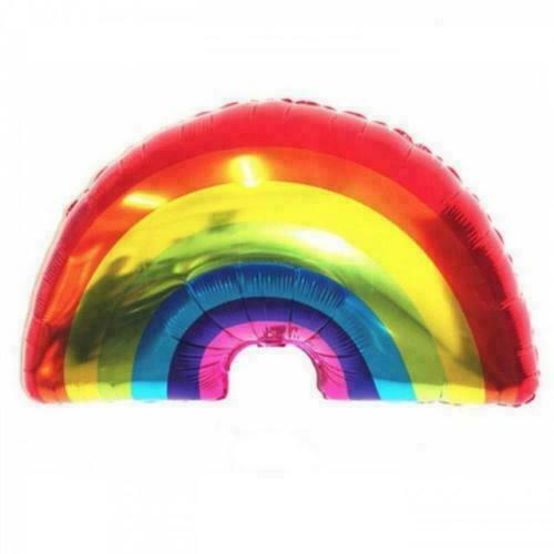 Giant Foil Rainbow Ballon Hélium//Air Fête D/'Anniversaire Mariage Décoration