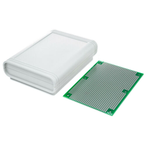 Universal PCB Circuit Matrix Board ABS Box Enclosure for Electronic Prototypes